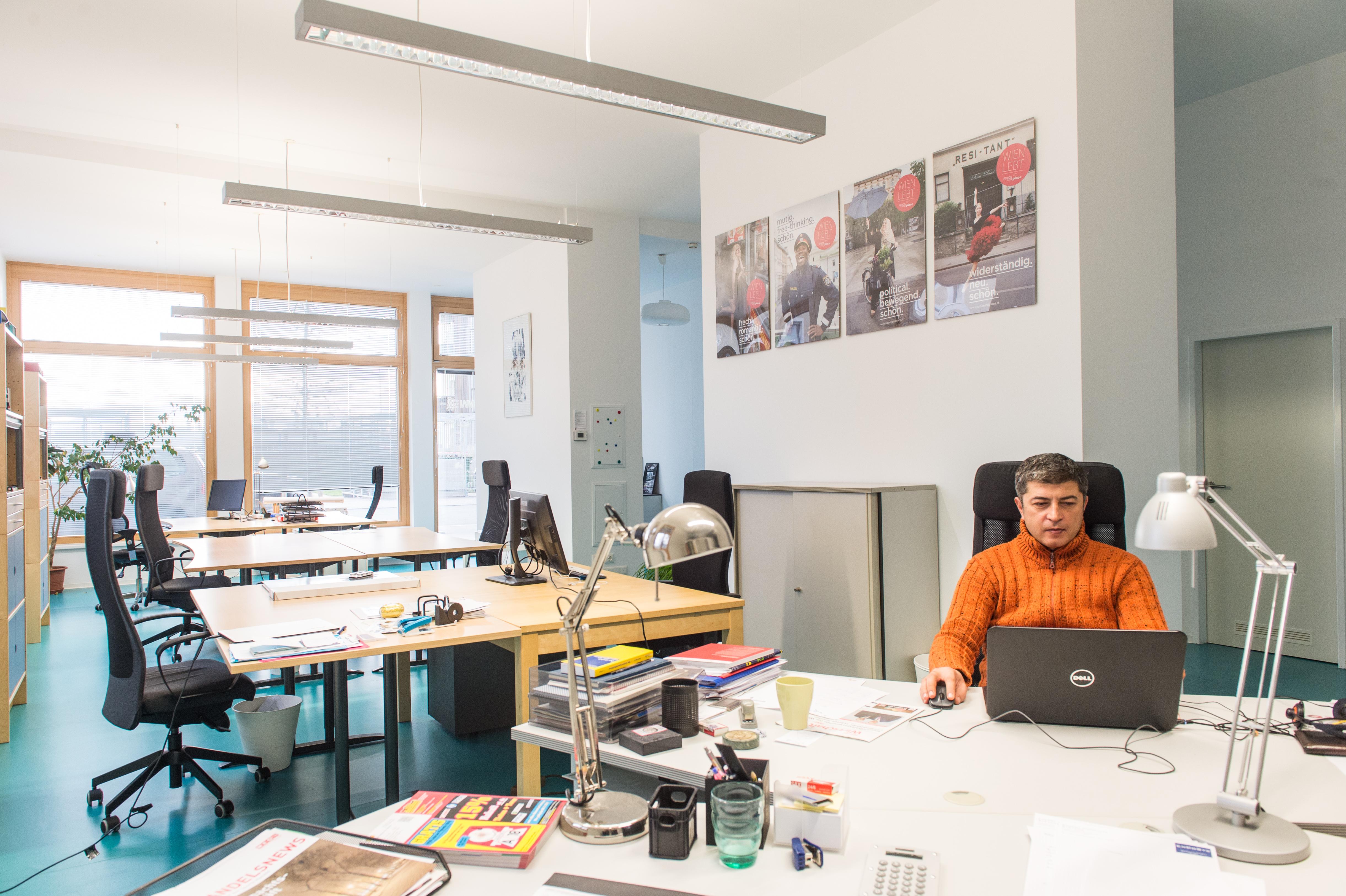 Coworker im Büro